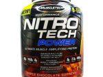 Protine NitroTech Power 1.81kg MuscleTech - NitroTech Power 38 Servings - Chocolate