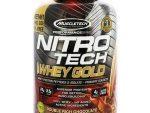 Protine NitroTech 2.5 kg MuscleTech - Whey Gold Protine 77 servings - Chocolate