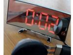 curved clock