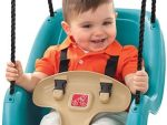 Infant To Toddler Swing - A Swing Chair For Children From 9 to 36 months - Turquoise