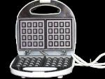 DSP Waffle Maker 750 Watts - Sandwich Maker - White - Model KC1004