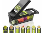 Multifunctional Vegetable Slicer - 6 in 1 Vegetable and Fruit Slicer