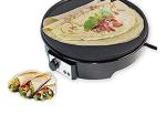 CattleBie Crepe and Pancake Maker - Electric Waffle Maker - 1000 Watt