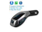X5 Car MP3 Player - MP3 Player with USB Charging Port - Black