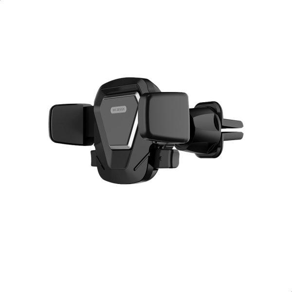 حامل موبايل للسيارة قابل للتعديل - حامل هاتف للسيارة سهل التركيب - اسود
