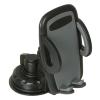 حامل هاتف للسيارة ايزي وان تاتش - حامل موبايل سهل التركيب - JS-035 - اسود ورمادي
