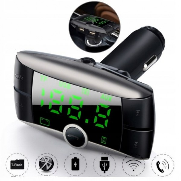 Bluetooth Car MP3 Player - Wireless Car MP3 Player with FM Transmitter
