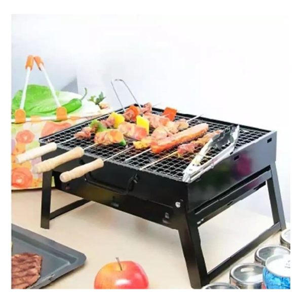 Portable Charcoal Grill - Folding Charcoal Grill