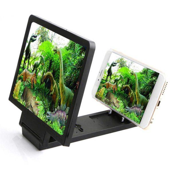 Enlarged Screen 3D for Smartphones - Black