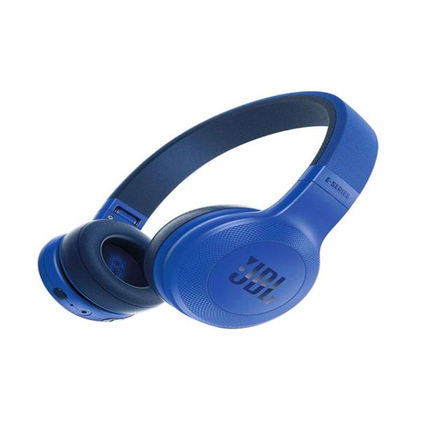سماعة راس بخاصية البلوتوث من جي بي ال - سماعة لاسلكية - ازرق - موديل STN-39