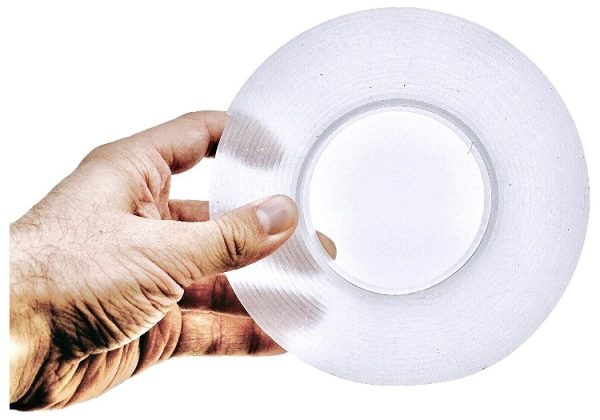 Double Face Silicone Adhesive - transparent