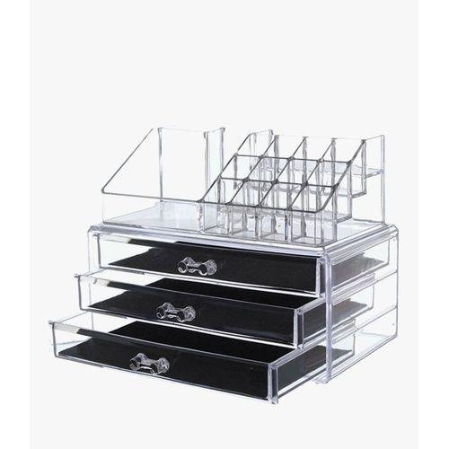 Cosmetic Storage Display Boxes & Acrylic Jewelry