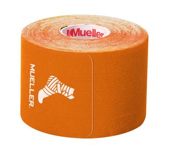 شريط طبي لاصق للرياضين من مولر - شريط طبي كونسولجي للعلاج الطبيعي - برتقالي