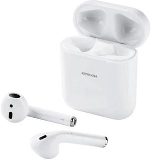 Joyroom Wireless Earphone - Bluetooth Headset with Charging Case - White