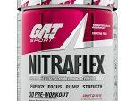 NitraFlex Testosterone Boosting 30 Servings - Testosterone Boosting 300g GAT Sport - Fruit Punch