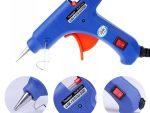 Large Glue Gun 20W - Wax Gun 180°C - Blue