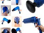 Bathroom Wiring Gun - Air Pressure Wiring For Bathroom - Blue