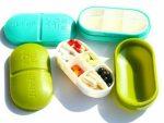 Portable Medicine Organizer 6 Grids - Medicine Storage Box - Multi Color