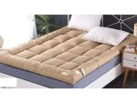 Soft Mattress Size 180 * 200 cm - 10 cm Thickness Fiber Mattress - cafee