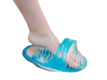 Easy Fit Foot Cleansing Shoe - Massage Slipper To Clean And Soften Feet