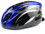 Safety Helmet While Skiing Or Cycling - Blue