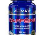 Allmax Nutrition Caffeine 100 Tablets - Supplement 200 mg